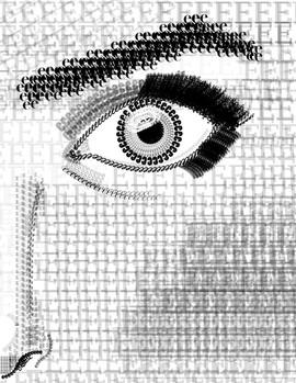 Eye Typography- Digital Ilustration
