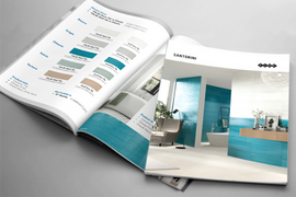 Genrose Stone and Tile Marketing Collateral