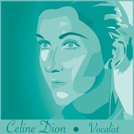 Celine Dion- Digital Illustration