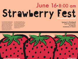 Strawberry Fest- Poster