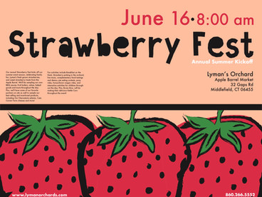Strawberry Fest Poster