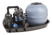 pool pump and filter combi unit