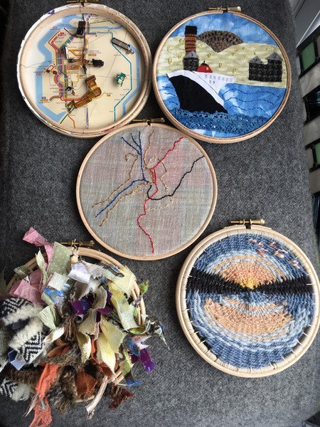 Re-imagining Oban - all five pieces