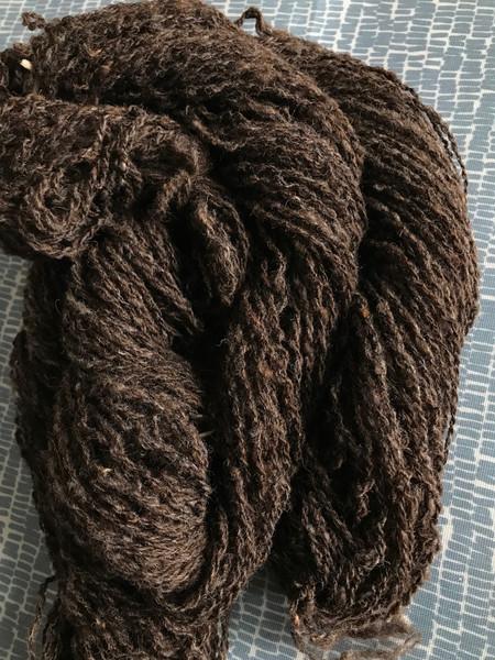 moorit (brown) shetland yarn