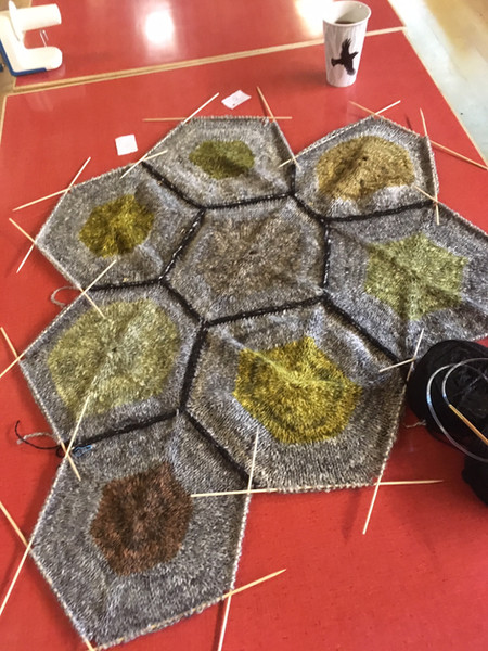 joining the hexagons