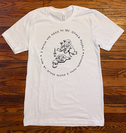 Other People Fund Shirt White