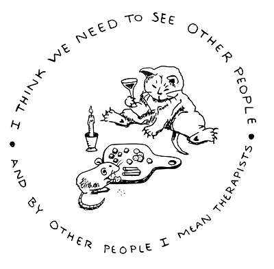 I think we need to see other people logo