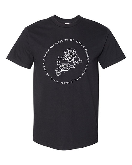 Other People Fund Shirt Black