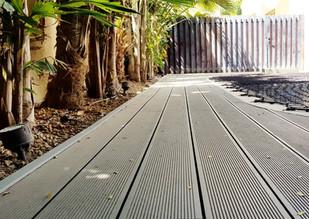 WPC deck - No maintenance