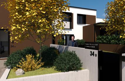 lato est The raised gardens