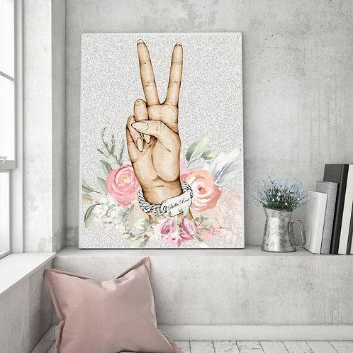 Peace Sign Chanel Bracelet