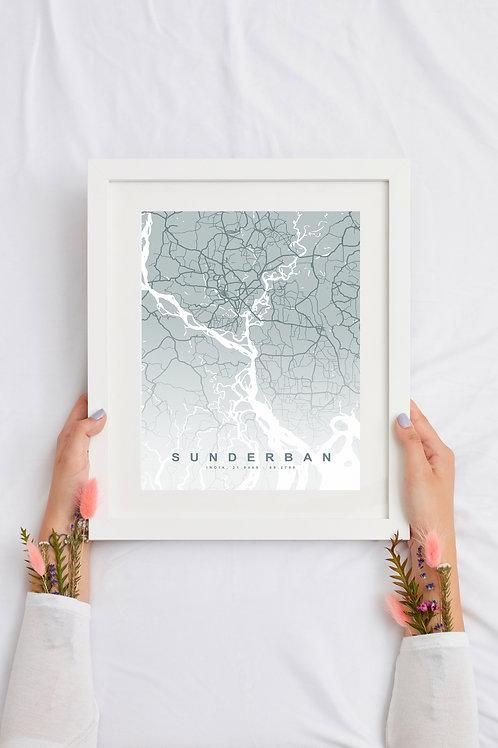 Custom City Map Print