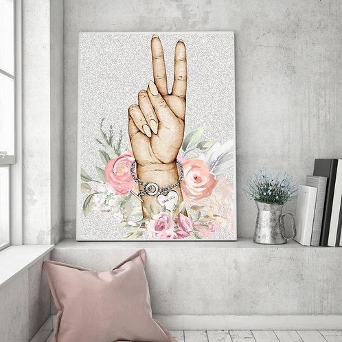 Peace Sign Tiffany Braclet