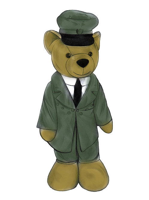 Harrods Bear - Exclusive & limited Print