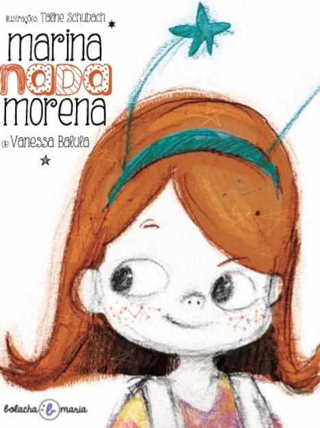 livro Marina nada morena