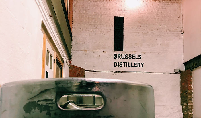 Brussels Distillery building