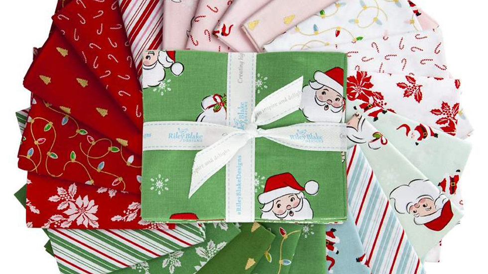 Santa Claus Lane Fat Quarter Bundle