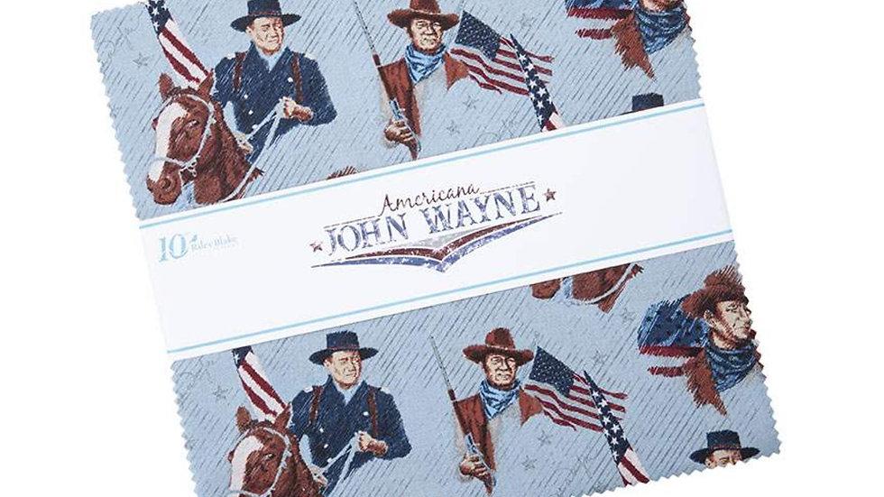 "John Wayne 10"" Stacker Americana  Riley Blake"
