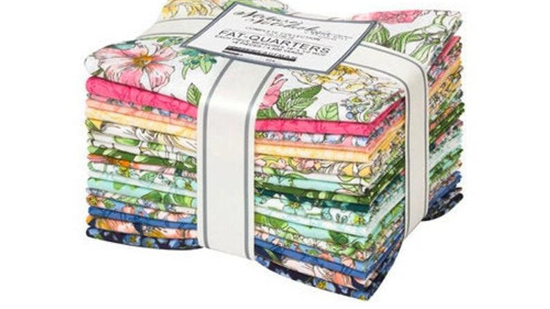 Fat Quarter Bundles: Nature's Notebook by Briar Hill - Complete Collection  18PC