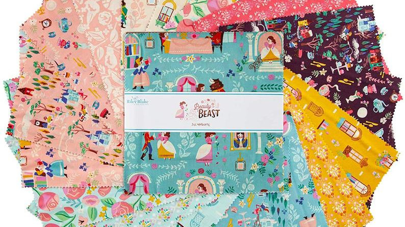 "Beauty & the Beast 10"" Stacker 42PCS By Jill Howarth for Riley Blake"