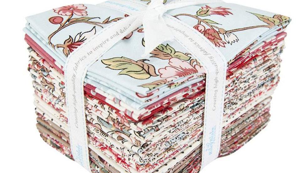 """Jane Austen at Home Fat Quarter Bundle 20PCS 18"""" x 22"""""""