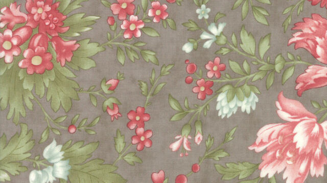 Rue 1800 Cobblestone by 3 Sisters for Moda Fabrics - Quilt, Floral