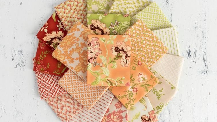 Boundless Posy Meadow French Floral Quilting Precut Fabric Bundles
