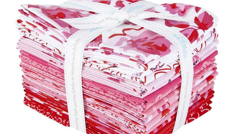 Sending Love 18 Fat Quarter Bundle by My Mind's Eye for Riley Blake