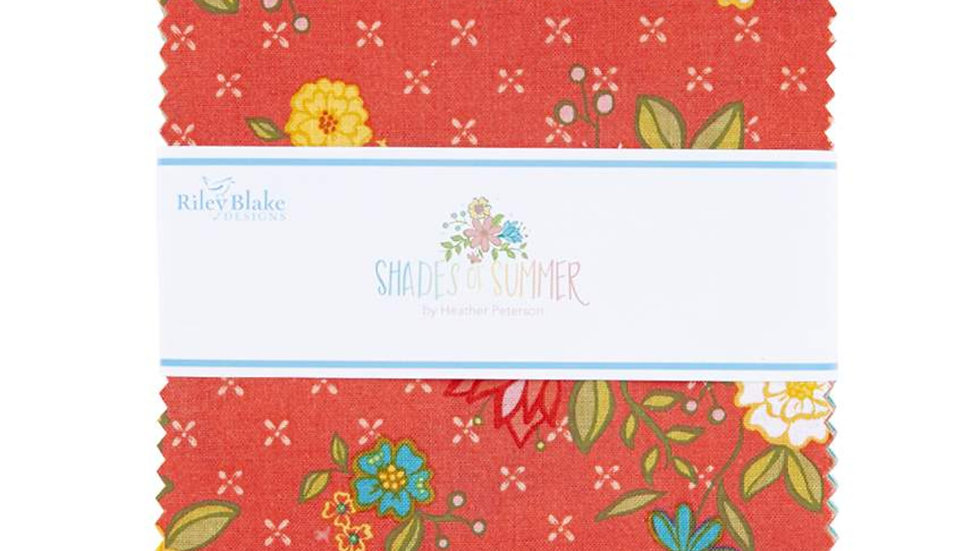 """Shades of Summer by Heather Peterson 5"""" Stacker"""