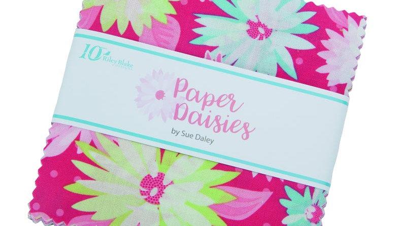 "Riley Blake 5"" Stacker Paper Daisies, 42Pcs"