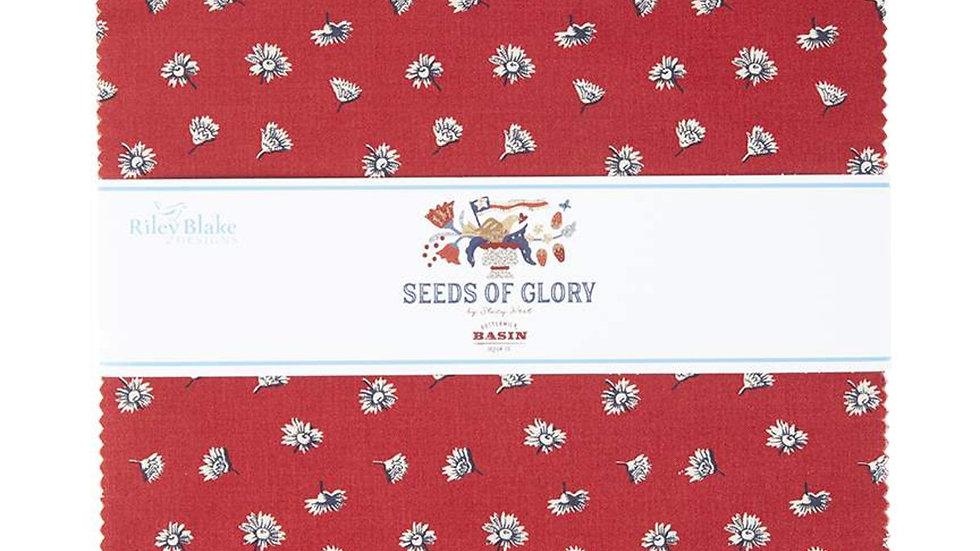 "Seeds of Glory 10"" Stacker 42PCS"
