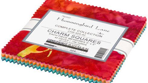 Hummingbird Lane Charm Squares 42PCS 5 x 5-Robert Kaufman