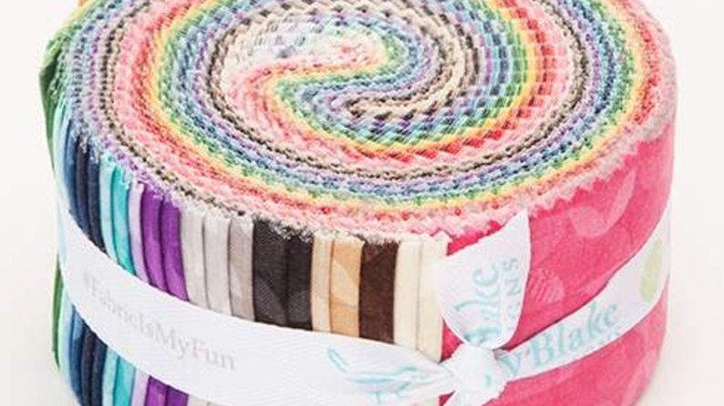 Crayola Kaleidoscope Rolie Polie 40 2.5-inch Jelly Roll