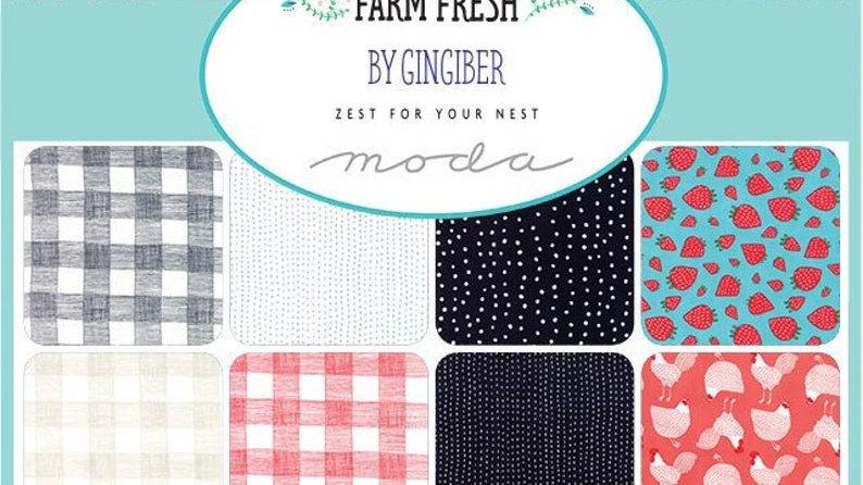 Farm Fresh Jelly Roll by Moda