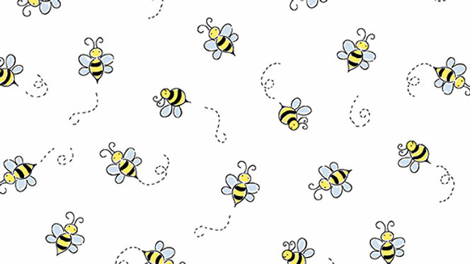 Andover Bumble Bee Fabric A-9715-L