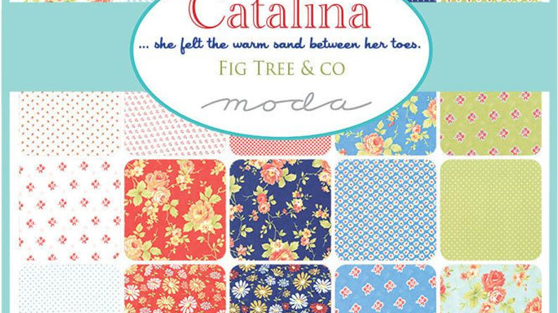 Catalina Fig Tree & Co. Fat Quarter Bundle FREE SHIPPING