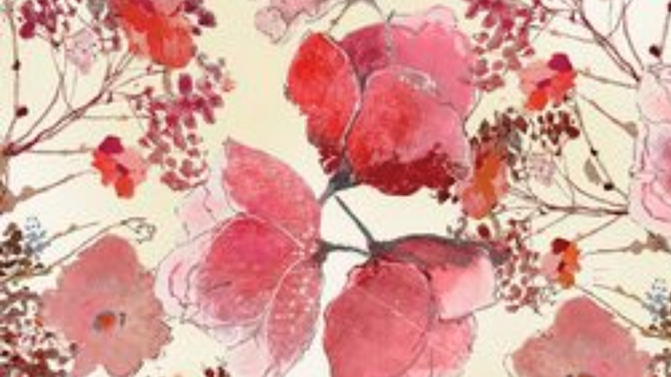 Timeless Treasures-Delicate Flower Blooms By Alice Collection