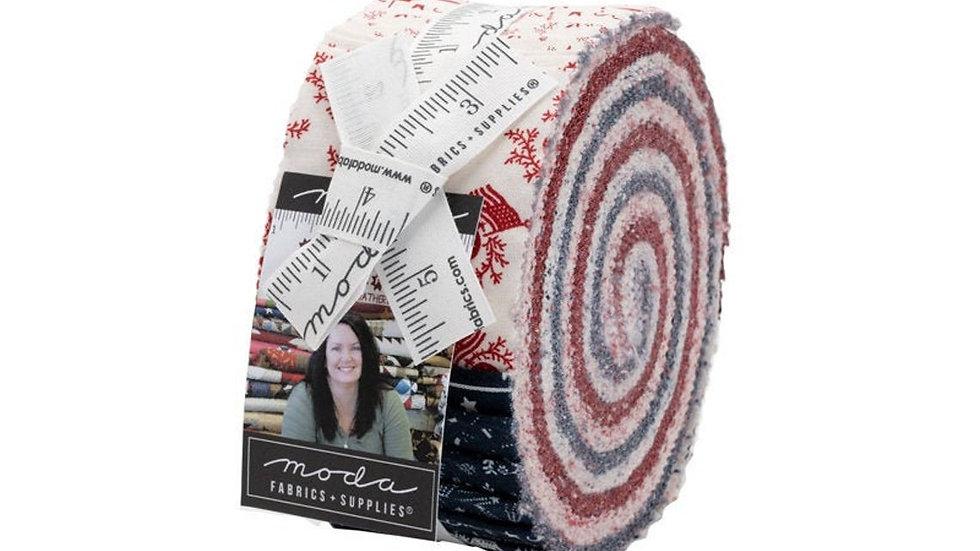American Gathering Jelly Roll, Moda  40PCS