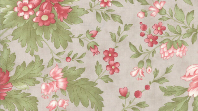 Rue 1800 Genevieve Dove by 3 Sisters for Moda Fabrics - Quilt, Floral