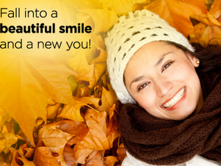 Fall into a beautiful smile and new you!