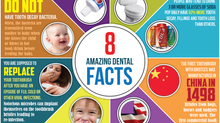 8 AMAZING DENTAL FACTS