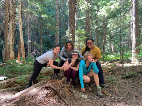 Things I learned from my first all-women's backpacking trip