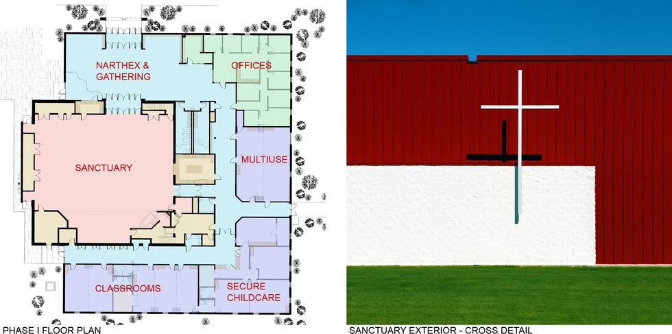 Floor Plan and Cross Detail