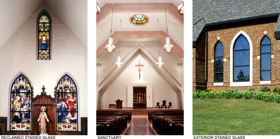 Stained Glass & Sanctuary