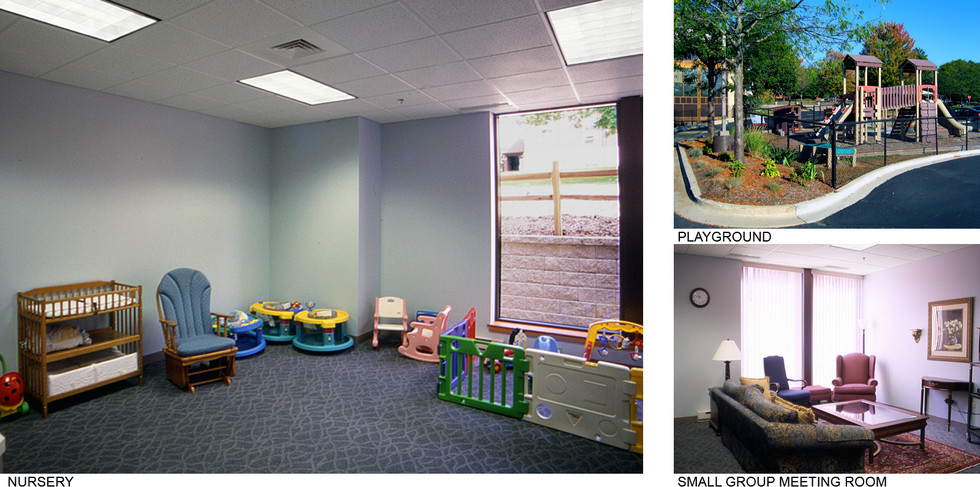 Nursery, Playground, & Meeting Room