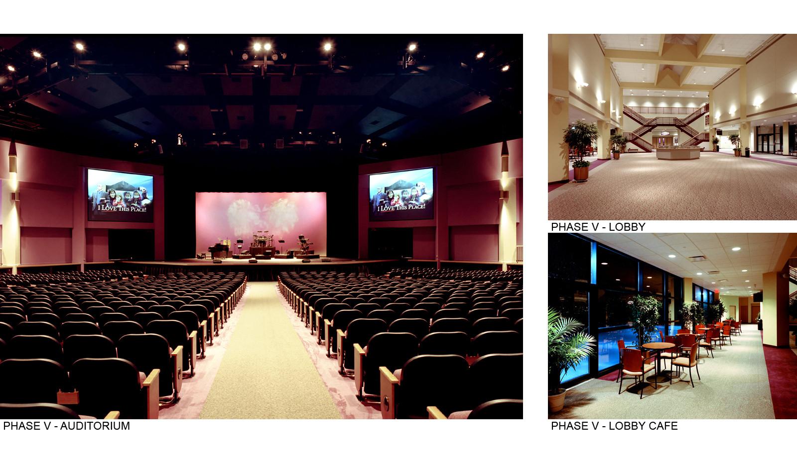 Phase V Auditorium & Lobby