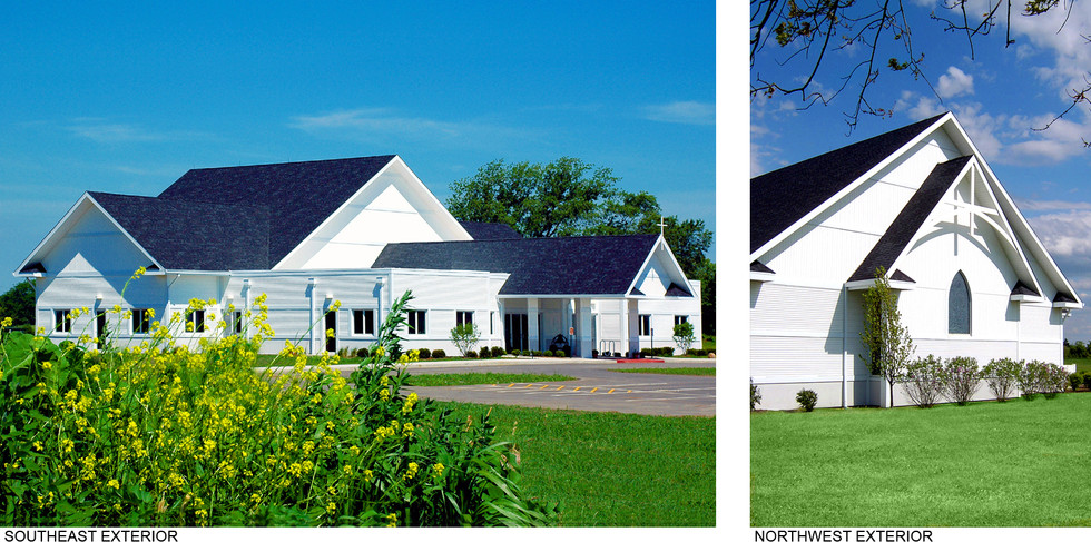 Southeast and Northwest Exteriors