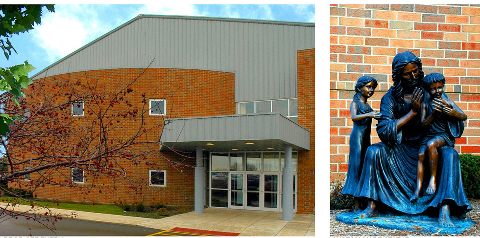Entry and Custom-made Statue