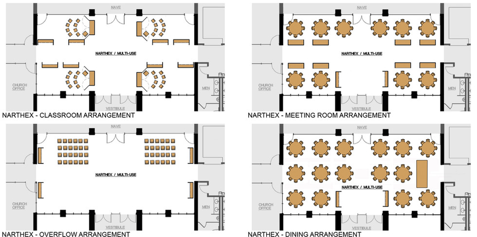 Narthex Arrangements
