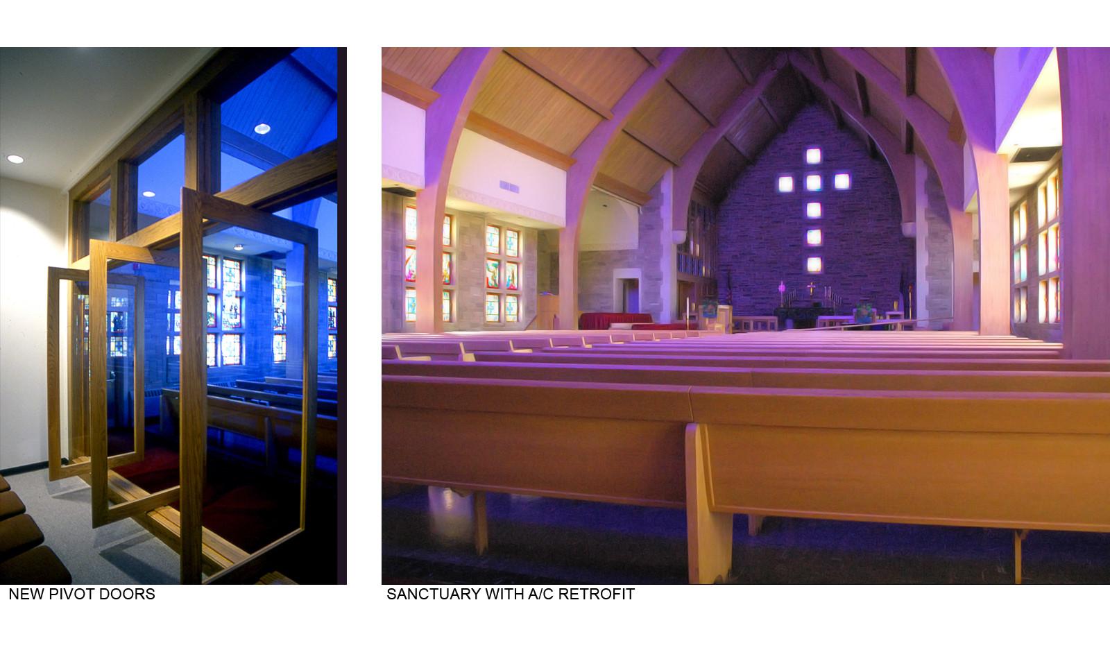 New Pivot Doors and Sanctuary